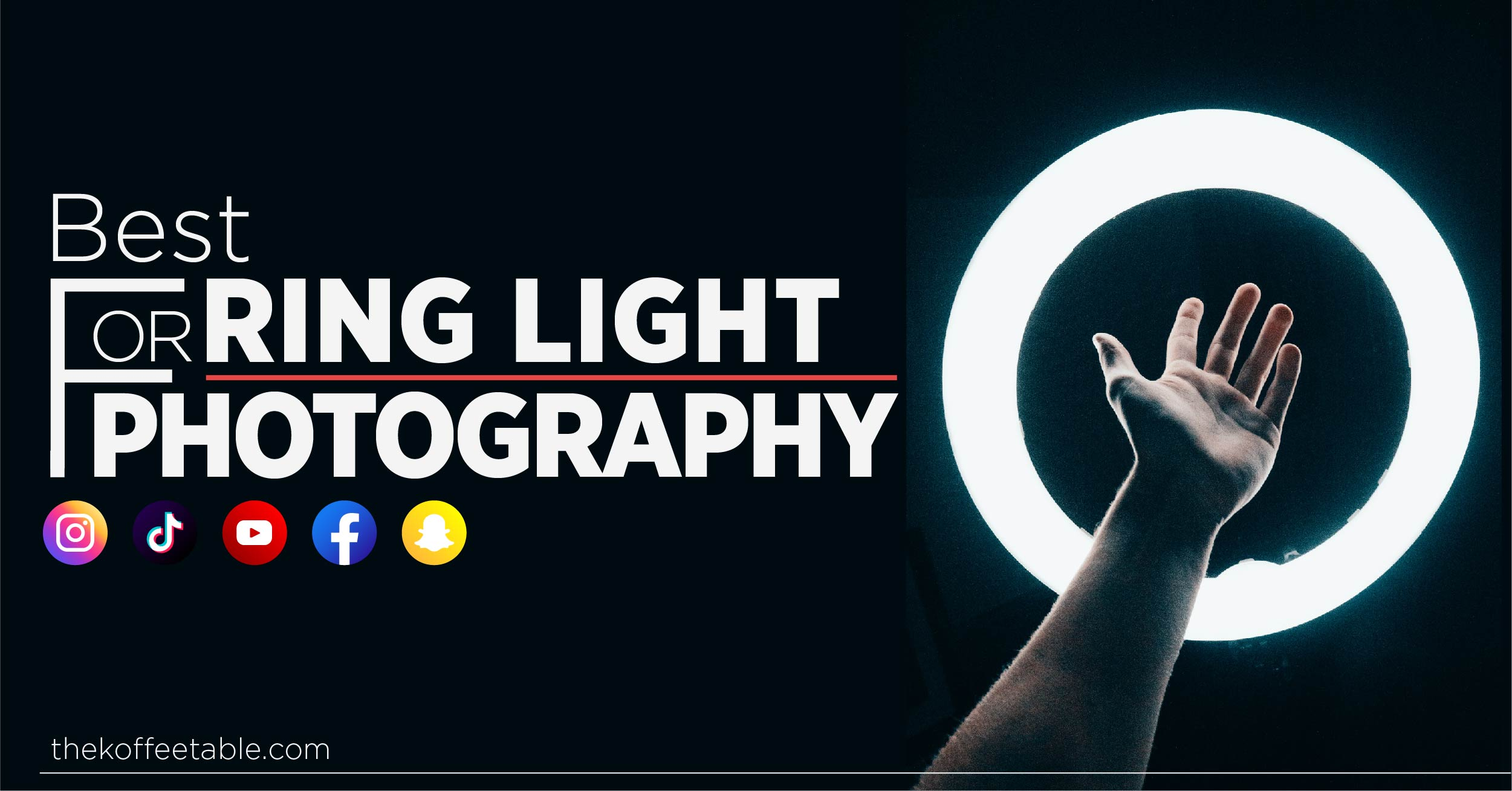 best ring light for photography