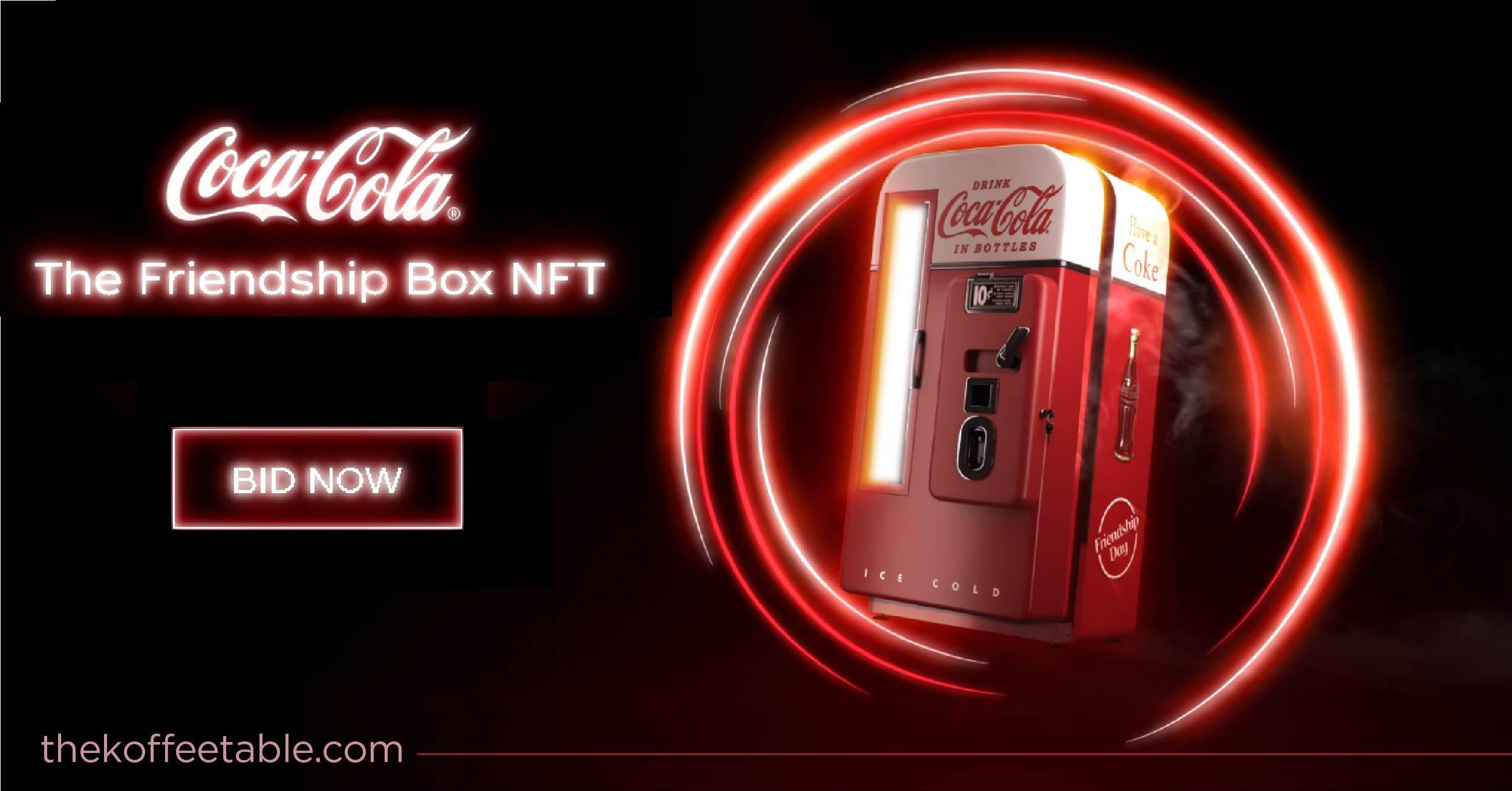 coca cola nft auction