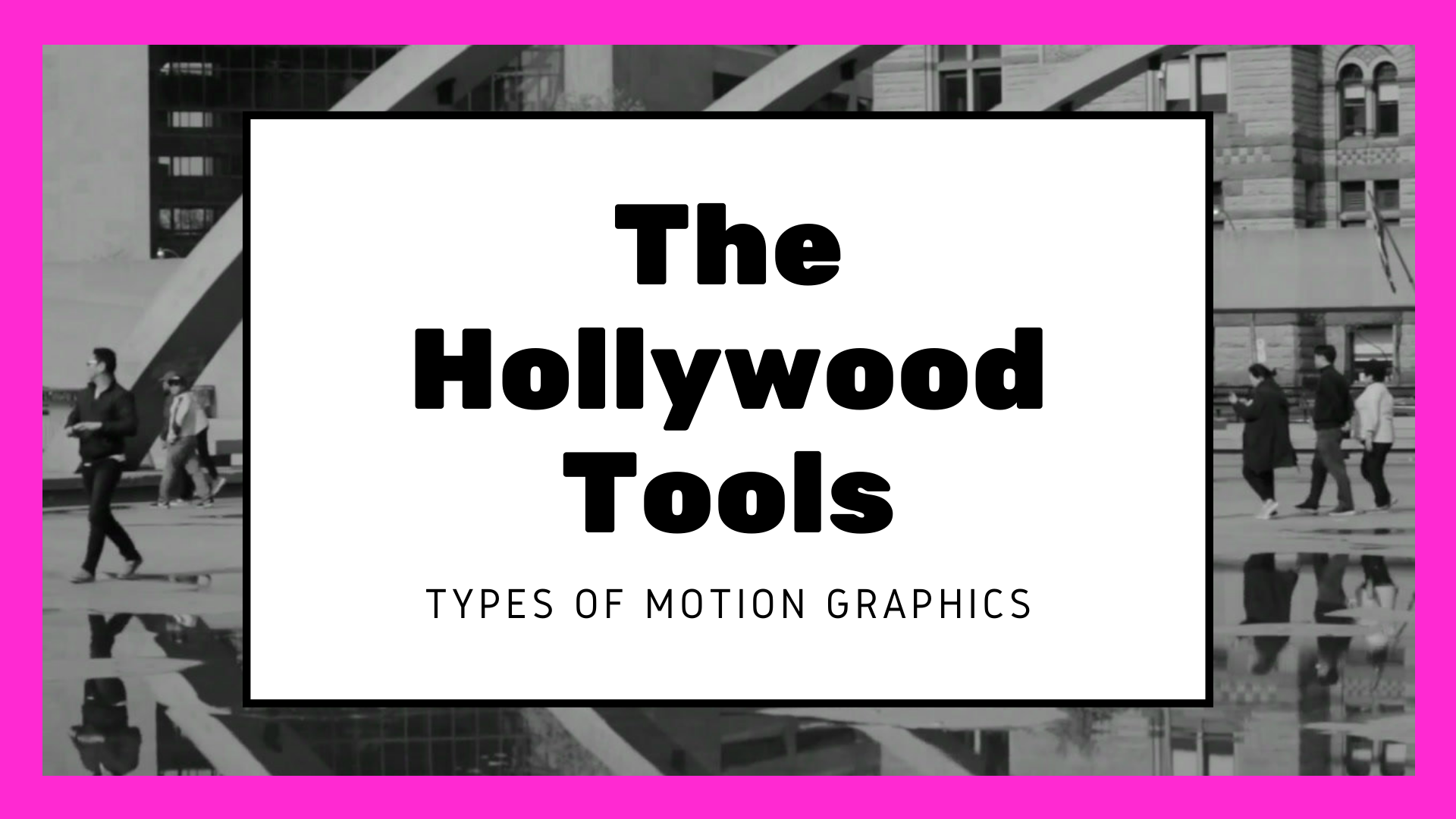 Ever wonder what types of motion graphics Hollywood uses!